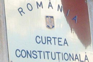 Curtea Constituțională. Decizie de ultimă oră